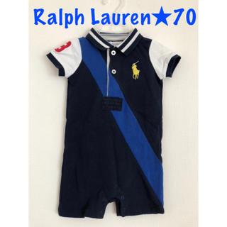 Ralph Lauren - Ralph Lauren ラルフローレン★ロンパース カバーオール 70