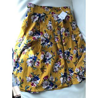 ナチュラルビューティーベーシック(NATURAL BEAUTY BASIC)の新品未使用 ELVENCE DUEX スカート(ひざ丈スカート)