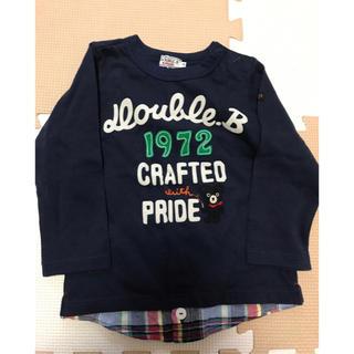 ダブルビー(DOUBLE.B)のミキハウス♡ダブルビートップス90(Tシャツ/カットソー)