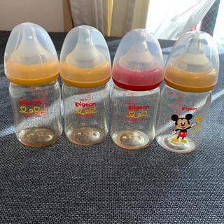 ピジョン(Pigeon)のピジョン 哺乳瓶 4本セット ミッキー その他  160ml(哺乳ビン)
