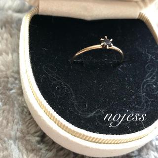 ノジェス(NOJESS)のnojess 10K  オニキス リング(リング(指輪))
