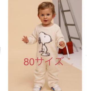 gelato pique - 新品☆ 【PEANUTS】ベビモコジャガード baby ロンパース