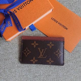 ルイヴィトン(LOUIS VUITTON)の美品 ルイヴィトン カードケース(名刺入れ/定期入れ)