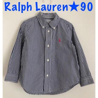 Ralph Lauren - Ralph Lauren ラルフローレン★ストライプシャツ 90