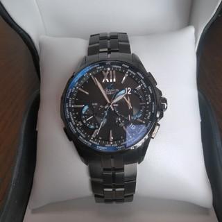 カシオ(CASIO)のCASIO OCEANUS OCW-S3400B-1AJF 極美品 長期保証残有(腕時計(アナログ))