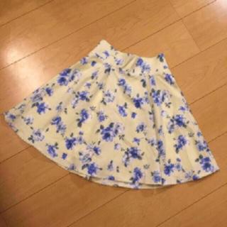 ヘザー(heather)の140・【SALE♡2900円→2400円】フラワー柄スカート(ひざ丈スカート)