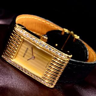 ブシュロン(BOUCHERON)のBOUCHERON 【ブシュロン】 リフレ K18YG ベゼルサイドダイヤモンド(腕時計)