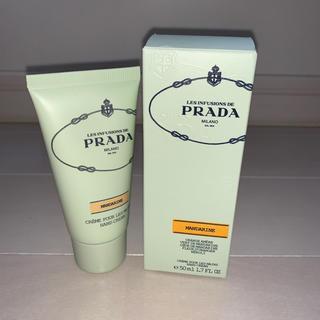 プラダ(PRADA)のPRADA マンダリンハンドクリーム 箱付き(ハンドクリーム)