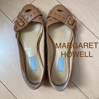 マーガレットハウエル(MARGARET HOWELL)のマーガレットハウエル ベルトデザインパンプス(ハイヒール/パンプス)