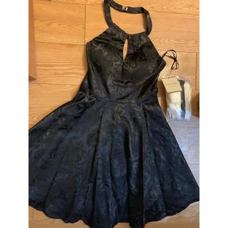 ローブ(ROBE)の新品ドレスsugarブラック(ナイトドレス)
