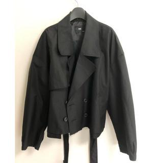 HARE - HARE ショートトレンチジャケット