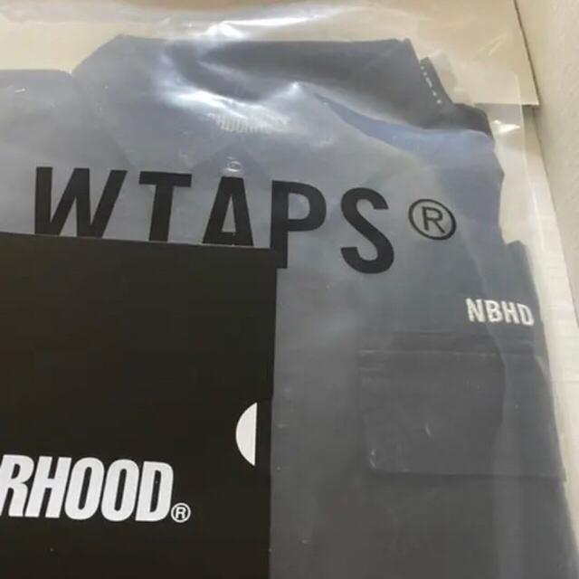 NEIGHBORHOOD(ネイバーフッド)のWTAPS NEIGHBORHOOD JUNGLE SHIRT BLACK S メンズのトップス(シャツ)の商品写真