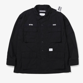 NEIGHBORHOOD - WTAPS NEIGHBORHOOD JUNGLE SHIRT BLACK S