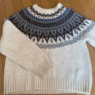 マックレガー(McGREGOR)のMcGREGOR ニット セーター メンズ LL L XL 白 ウィメンズ(ニット/セーター)