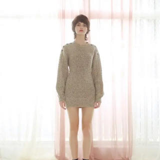 Rosary moon - Melange Knit Tunic
