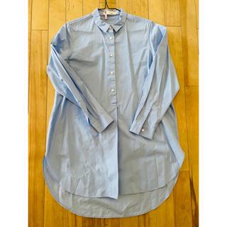 TOMORROWLAND - トゥモローランドブルーシャツ1度着用のみクリーニング済美品