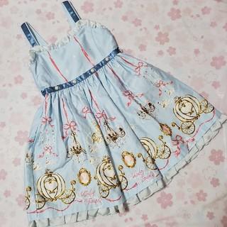 Shirley Temple - シャーリーテンプル☆シンデレラジャンパースカート