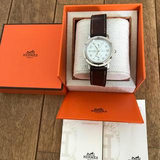 エルメス(Hermes)のkjさま専用 エルメス クリッパー ドゥブルトゥール GMT&パワーリザーブ(腕時計(アナログ))