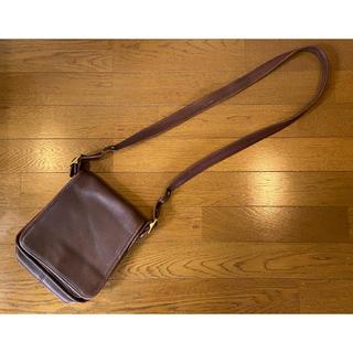 COACH - Vintage*正規品*オールドコーチ ショルダーバッグ*ブラウン色