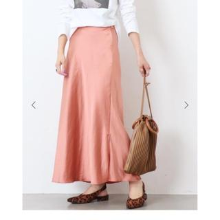 IENA - ダブルサテンマーメイドスカート