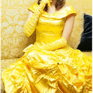 Disney - 美品♡ 美女と野獣 ベル ドレス
