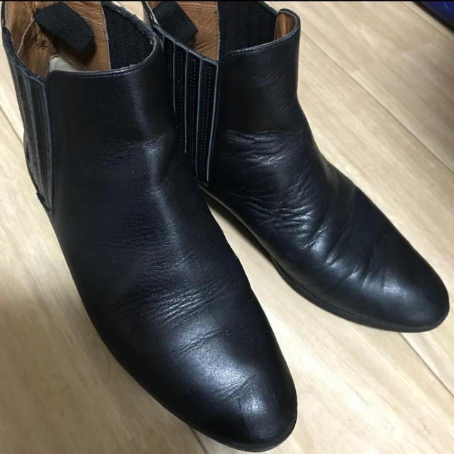 Odette e Odile(オデットエオディール)のオデットエオディール  本皮サイドゴア ブーツ レディースの靴/シューズ(ブーツ)の商品写真