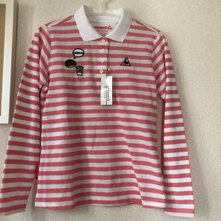 le coq sportif - 新品未使用 タグ付き le coq sportif ポロシャツ L ピンク