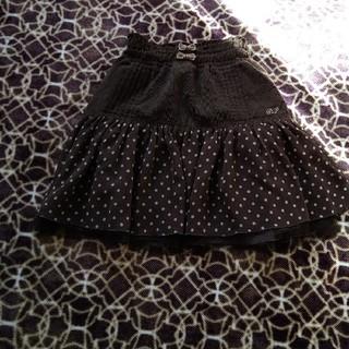 ポンポネット(pom ponette)のポンポネット可愛い水玉フレアスカート(スカート)