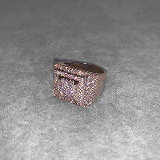 【WG】S925 ロジウムコーティング 金属アレルギー スターリングシルバー(リング(指輪))