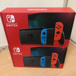 Nintendo Switch - Nintendo Switch ネオンブルー 二台