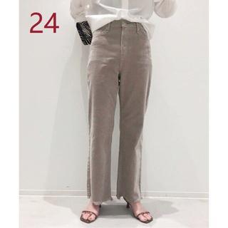 L'Appartement DEUXIEME CLASSE - UPPER HIGHTS TAYLOR CORDUROY パンツ グレーB/24