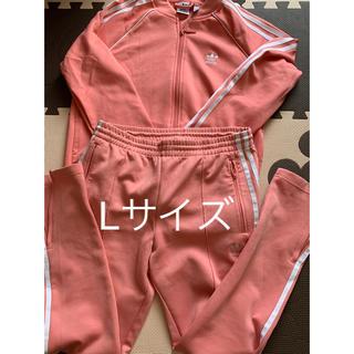 adidas - adidasオリジナルス★ジャージ セットアップ L ピンク