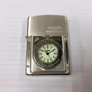 ジッポー(ZIPPO)のZIPPO 時計付き 1999年(タバコグッズ)