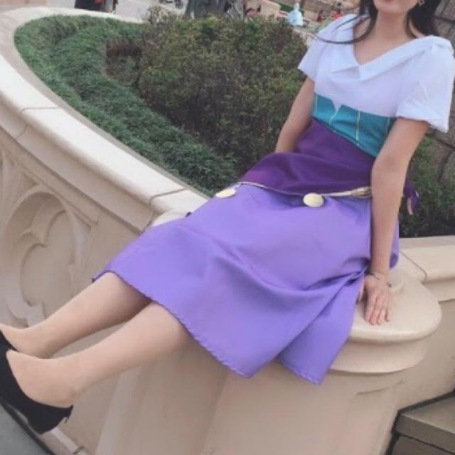Disney(ディズニー)のノートルダムの鐘 エスメラルダ エンタメ/ホビーのコスプレ(衣装)の商品写真