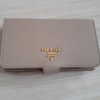 プラダ(PRADA)の正規品PRADAプラダ スマホカバー iPhone7(iPhoneケース)