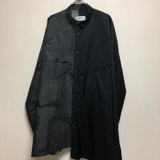 COMME des GARCONS - KIDILL オーバーサイズ ウエスタン ミリタリー ドッキングシャツ