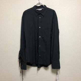UNUSED - Midorikawa 19ss カットオフシャツ