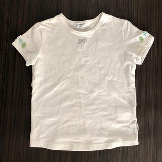 pom ponette - Pomponette 120 刺繍 Tシャツ ポンポネット