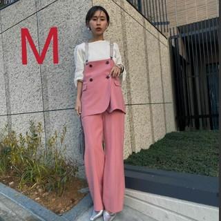 Ameri VINTAGE - 新品タグ付 MARLENE SET UP PANTS ピンク アメリ
