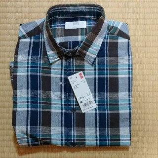 UNIQLO - ユニクロ チェックシャツ 半袖