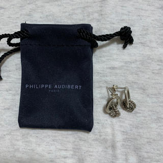 Philippe Audibert - PHILIPPE AUDIBERT シルバー ピアス