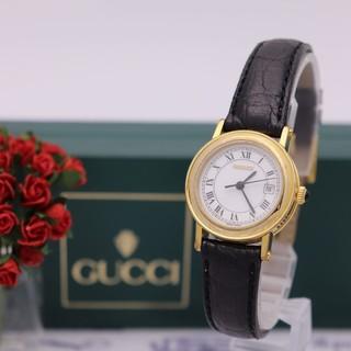 Gucci - 付属品完備【新品電池】GUCCI 7200L/人気モデル ゴールド ロゴ