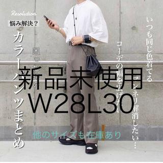 ラングラー(Wrangler)の【新品】Wrangler ランチャー ドレスジーンズ スラックス 28 スタプレ(スラックス)