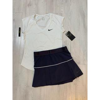 NIKE - ☆新品☆ Nikeナイキ 海外 テニスウェア トップス、スコート2点セット
