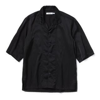 ノンネイティブ(nonnative)のnonnative オープンカラーシャツ BLACK size:0(シャツ)