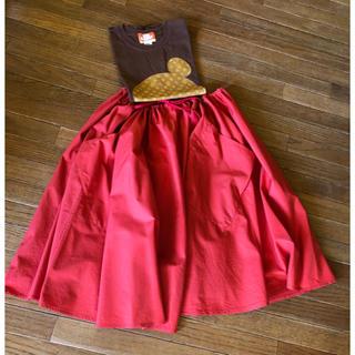 ルグラジック(LE GLAZIK)のBshop購入LE GLAGIK フレアースカート(ひざ丈スカート)