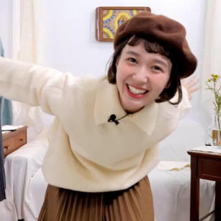 flower - usum しばさき ベレー帽