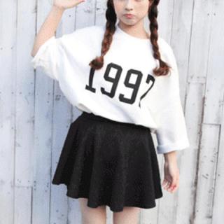 台形 スカート 韓国ファッション❤ ❤ レディースのスカート(ミニスカート)の