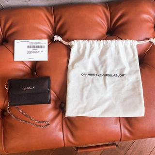 OFF-WHITE - オフホワイト OFF-WHITE ミニウォレット 財布