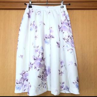 MERCURYDUO - マーキュリーデュオ 花柄スカート